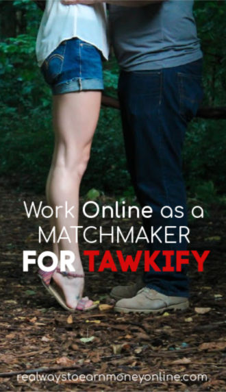 Work online as a matchmaker for Tawkify.