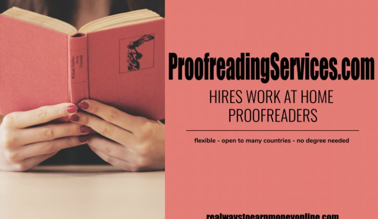 Proofreading Services Overview – Work at Home Proofreading Jobs