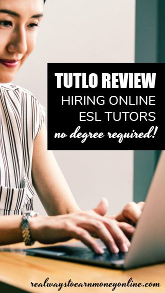Tutlo review - get paid for ESL tutoring online. No degree required.