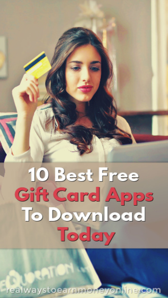 We have made a list of the 10 best free gift card apps to download to your smartphone. These apps make it easy to earn extra money in your spare time.