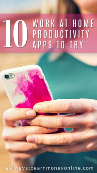 10 must-try work at home productivity apps!