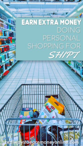 Shipt review - get paid to do personal shopping on your own time.