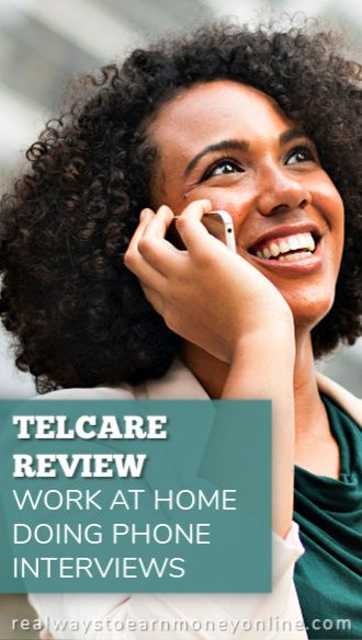 Telcare Retention Review - work at home doing phone surveys.