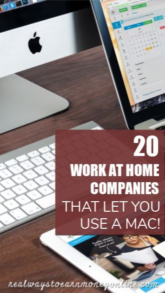 work at home jobs for mac users