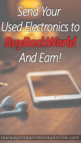 BuyBackWorld Review - Sell your electronics online and earn.