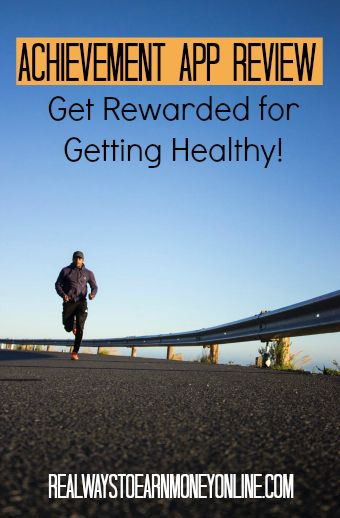 Achievement app review - get paid to get healthy.
