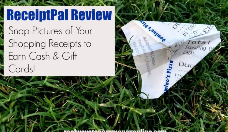 ReceiptPal Review – Take Pics Of Your Receipts And Earn!