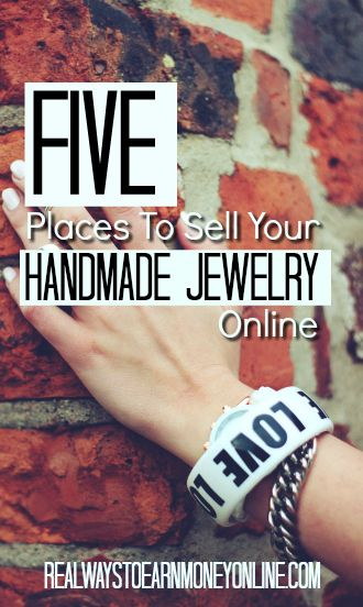 Want to sell handmade jewelry online? Here are five sites to use.