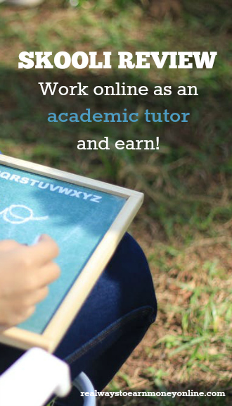 Skooli review - Work online as an academic tutor and earn more than $20 an hour.