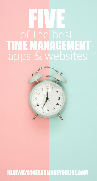 5 of the best time management apps and websites.