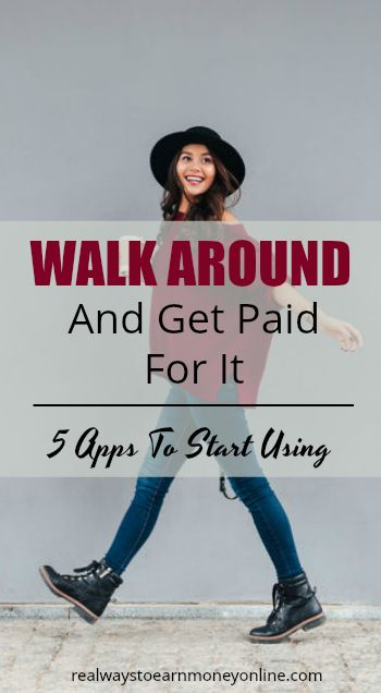 Get paid to walk. Five apps that sync with Fitbit you can download today.
