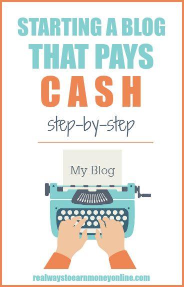 How to start a blog step by step - an overview. #blog #blogger #blogging #makemoneyblogging #startablog