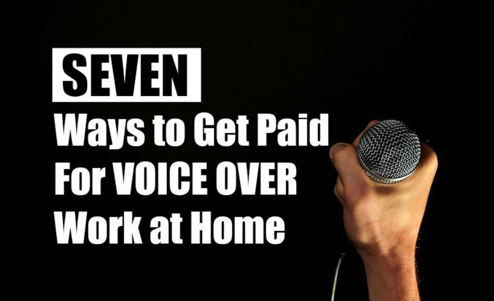 Voice Over Jobs From Home 7 Companies To Work For