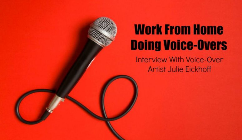 Working From Home Doing Voice-Overs – Interview & E-Course