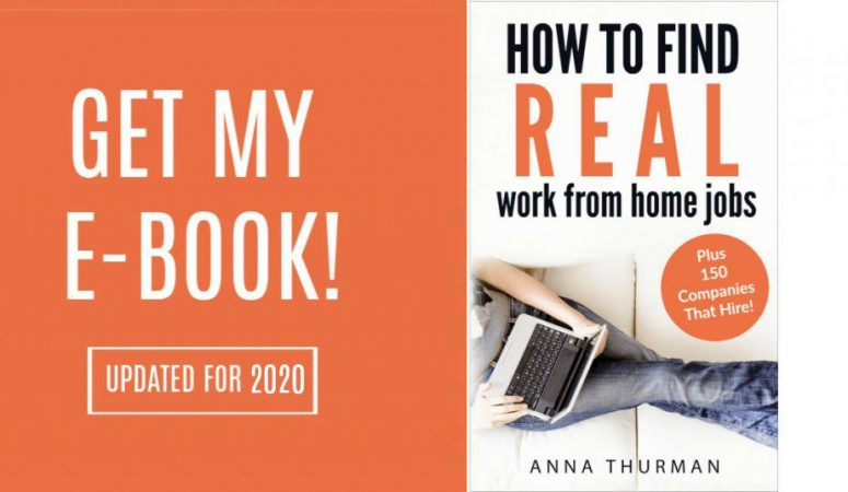 Get My eBook – How to Find Real Work at Home Jobs [Updated for 2020]