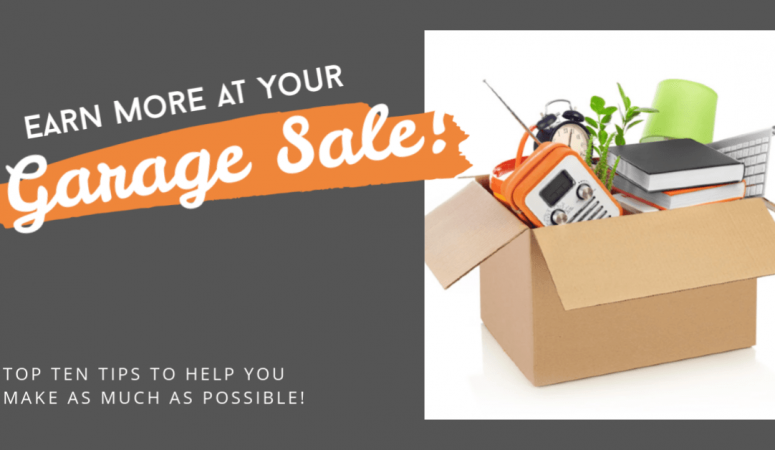 10 Good Tips For Your Next Garage Sale