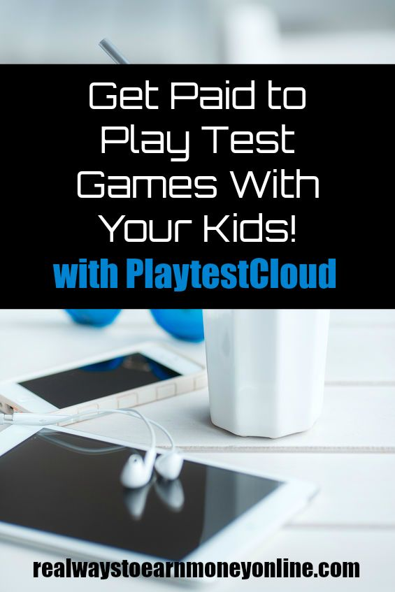 Get paid to play test games with your kids using PlaytestCloud. #getpaidtoplaygames #extracash