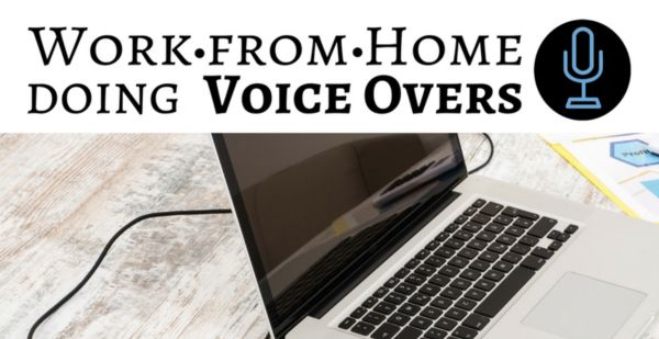 work at home doing voice overs