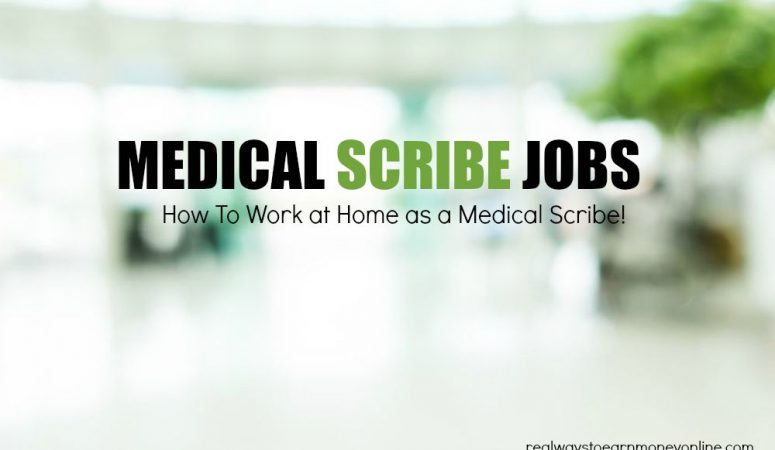 Medical Scribe Jobs (Work at Home) – What To Know