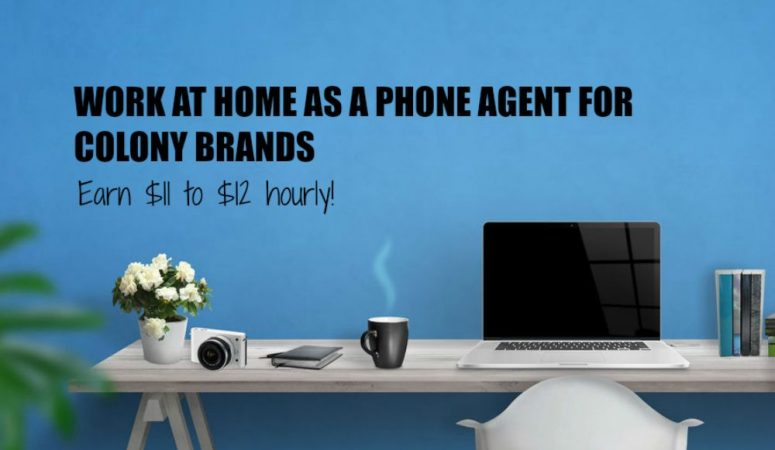 Work as a Remote Agent at Colony Brands