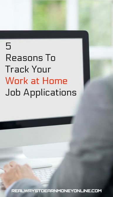 Are you tracking your work at home job applications? You should be, for many different reasons. In this post, we've listed five of the most important ones.