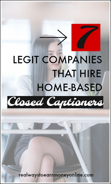 7 legit companies that hire work at home closed captioners.