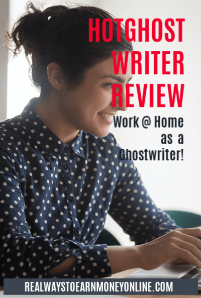 Work at home as a ghostwriter - HotGhostWriter regularly accepting new writers!