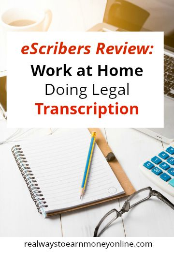 eScribers review - work at home doing legal transcription.