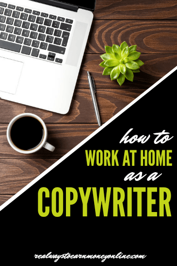 How to work from home as a copywriter.