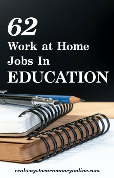 work at home education jobs